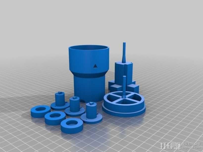 无刷马达 3D模型  图6