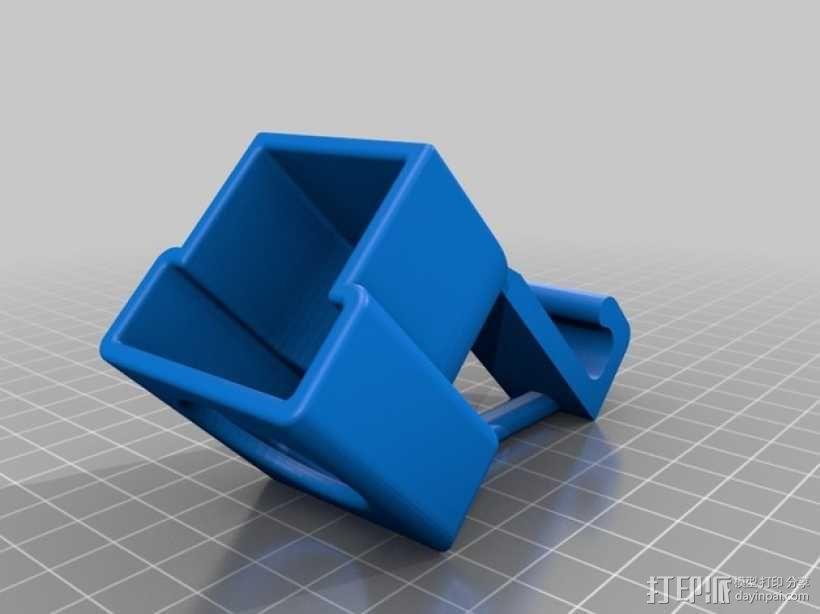 摄像机常平架锁定 3D模型  图2