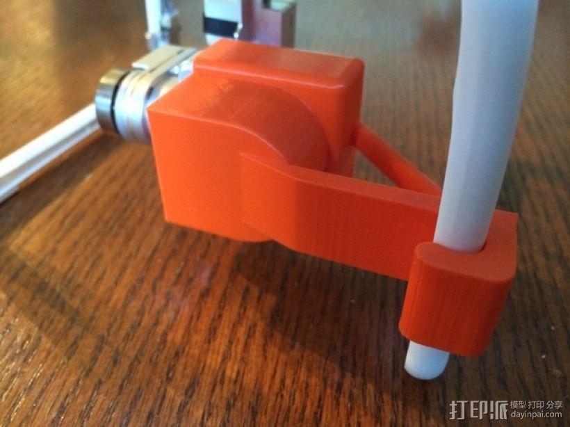 摄像机常平架锁定 3D模型  图3