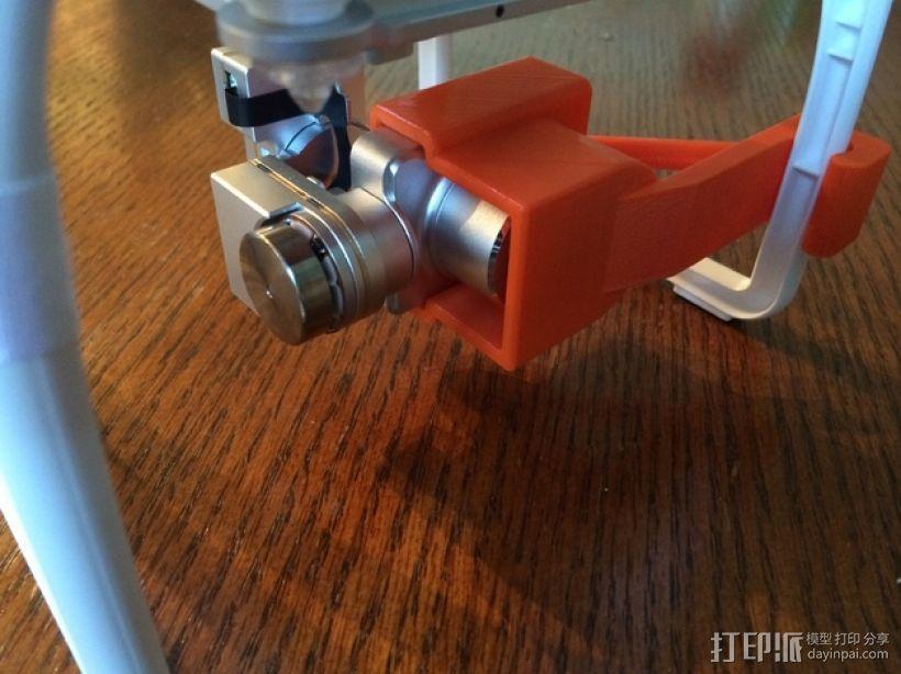摄像机常平架锁定 3D模型  图5