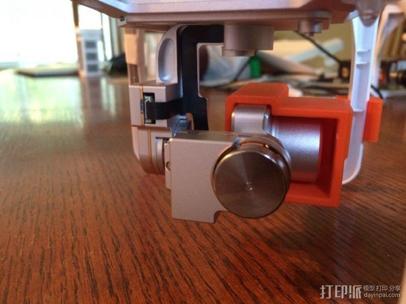 摄像机常平架锁定 3D模型  图4