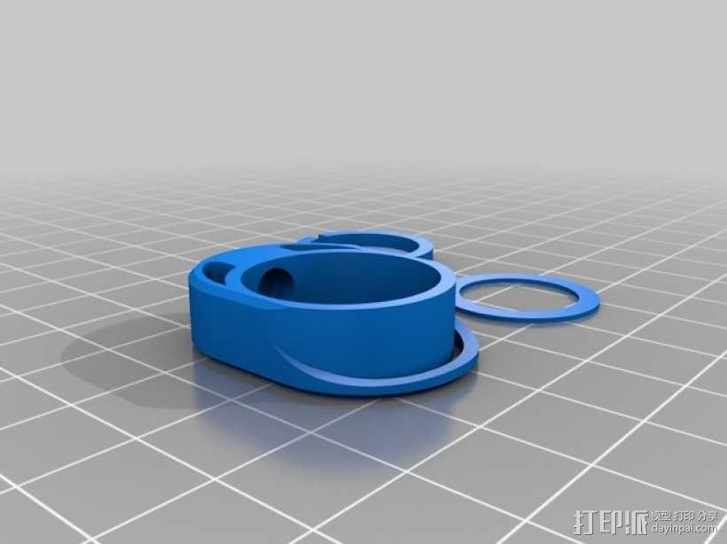 迷你手电筒 3D模型  图4