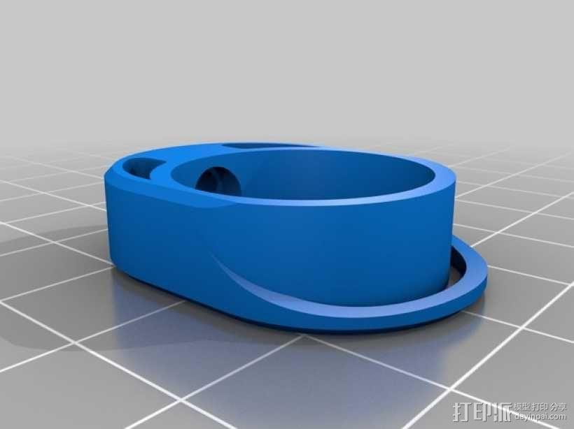 迷你手电筒 3D模型  图5