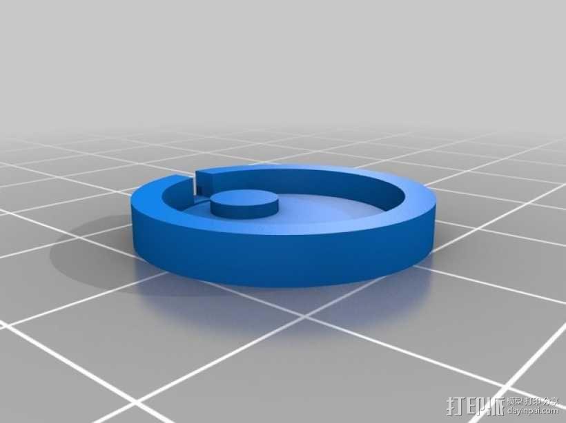 迷你手电筒 3D模型  图6