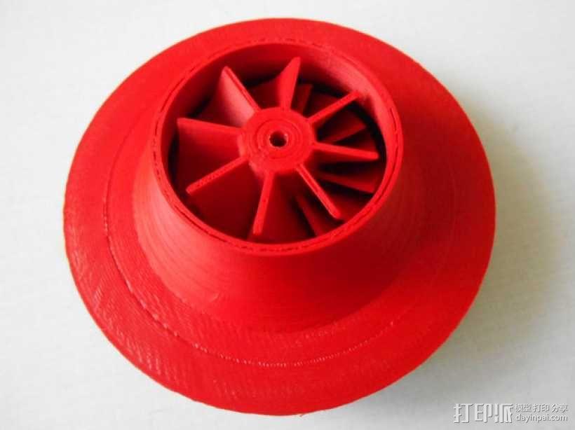 涡轮增压器 3D模型  图9
