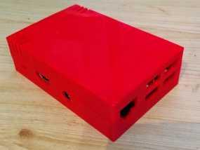 树莓派B+外壳 3D模型