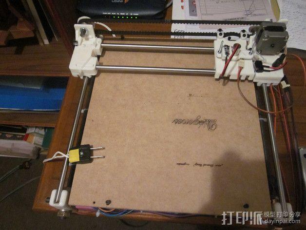 激光雕刻机  3D模型  图3
