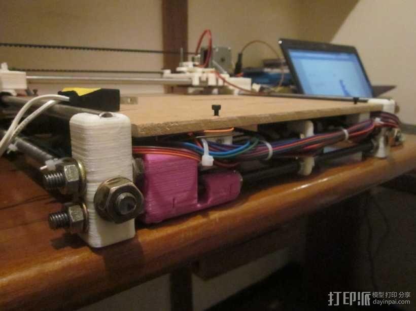 激光雕刻机  3D模型  图5