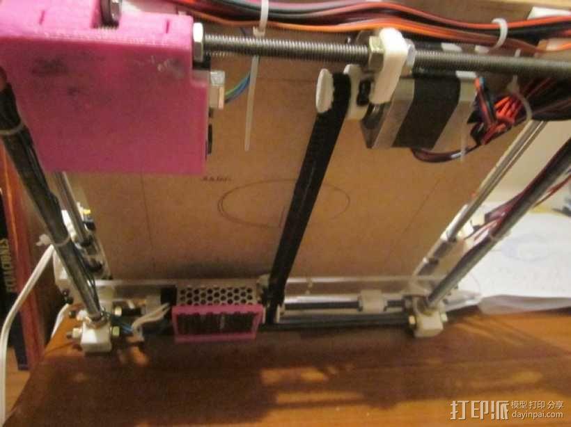 激光雕刻机  3D模型  图4