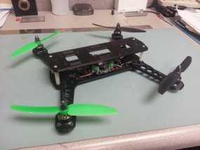 四轴飞行器 飞行控制器  3D模型