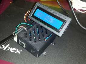 Arduino Ethernet电路板外壳 3D模型
