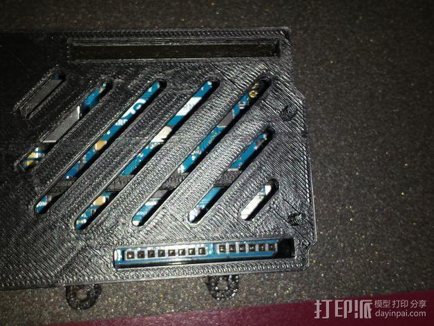 Arduino Ethernet电路板外壳 3D模型  图4