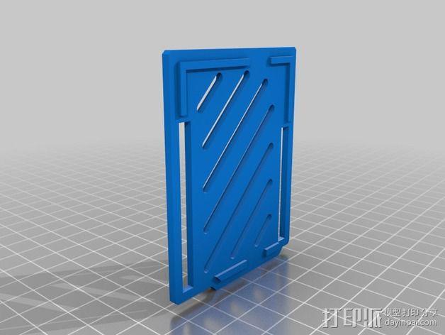 Arduino Ethernet电路板外壳 3D模型  图5