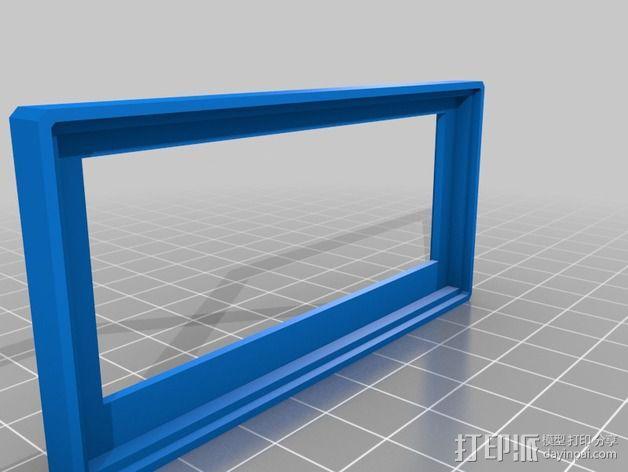 Arduino Ethernet电路板外壳 3D模型  图6
