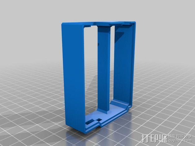 Arduino Ethernet电路板外壳 3D模型  图8