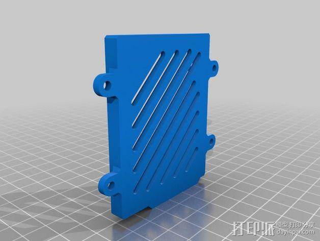 Arduino Ethernet电路板外壳 3D模型  图9