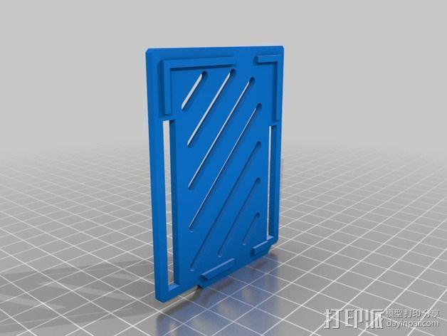 Arduino Ethernet电路板外壳 3D模型  图10