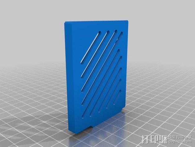 Arduino Ethernet电路板外壳 3D模型  图11