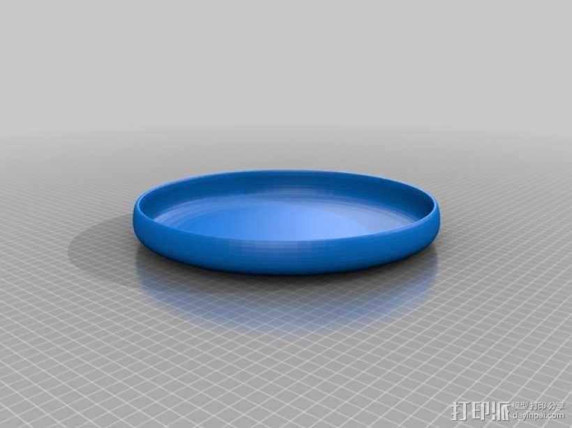飞盘 3D模型  图1