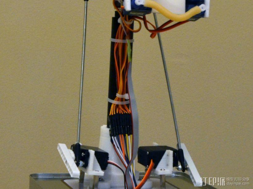 简易机器人头部 3D模型  图5