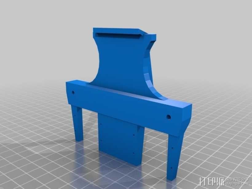 简易机器人头部 3D模型  图8