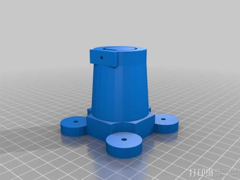 简易机器人头部 3D模型  图7