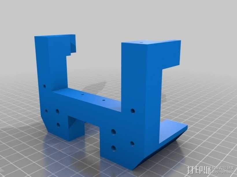 简易机器人头部 3D模型  图9