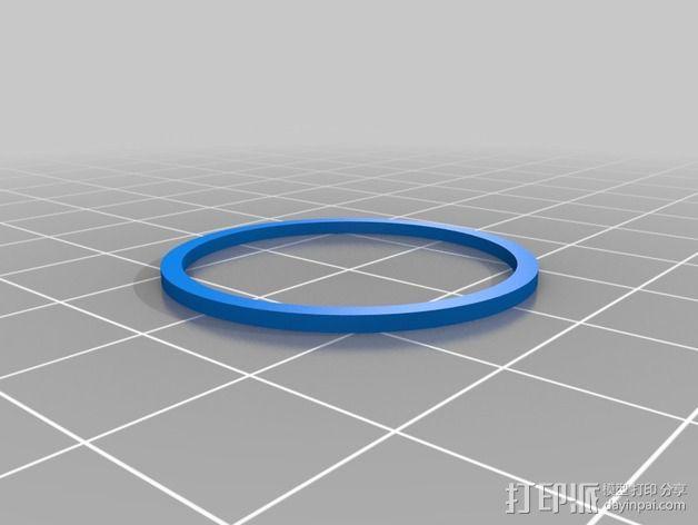 水离心泵 3D模型  图2