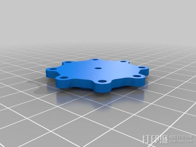 水离心泵 3D模型  图4