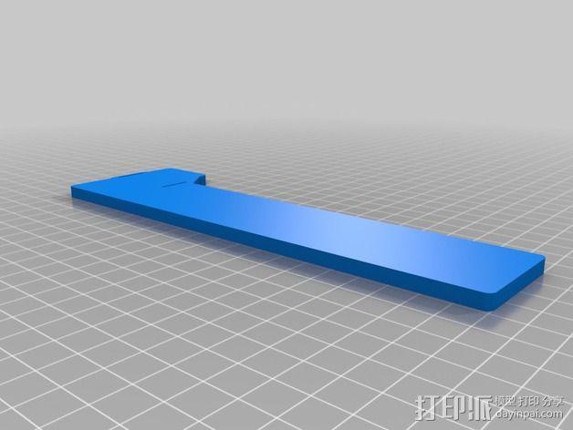 三轴飞行器组件 3D模型  图1