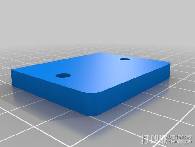 三轴飞行器组件 3D模型  图4