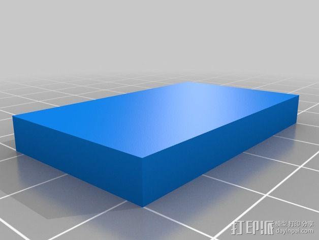 三轴飞行器组件 3D模型  图5