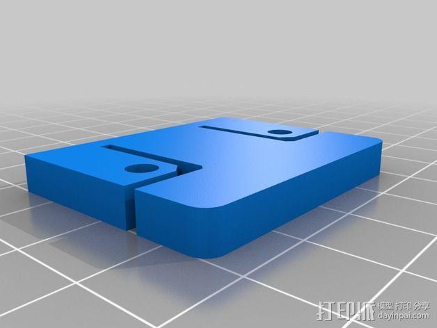 三轴飞行器组件 3D模型  图10