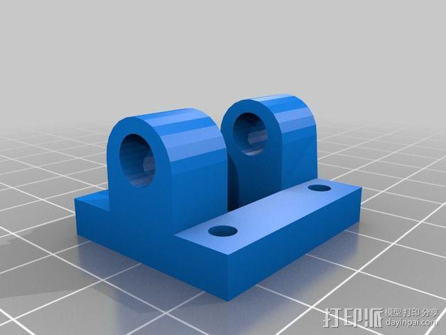 三轴飞行器组件 3D模型  图11