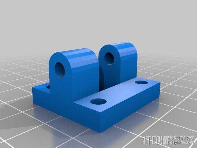 三轴飞行器组件 3D模型  图12
