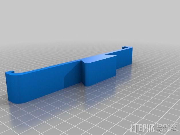 Dji Phantom的ipad夹持架 3D模型  图3