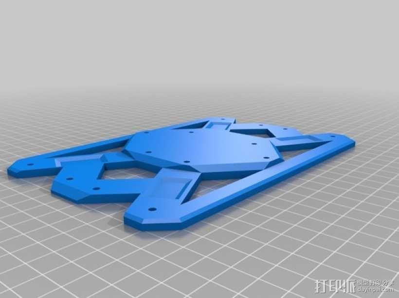 六轴飞行器 3D模型  图3