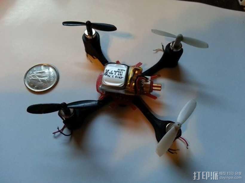 四轴飞行器可替换机身 3D模型  图1