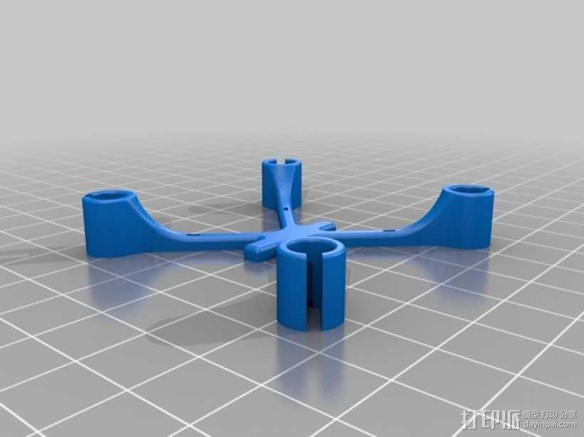 四轴飞行器可替换机身 3D模型  图2
