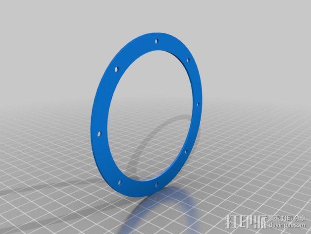 圆内螺线 变速箱 3D模型  图3
