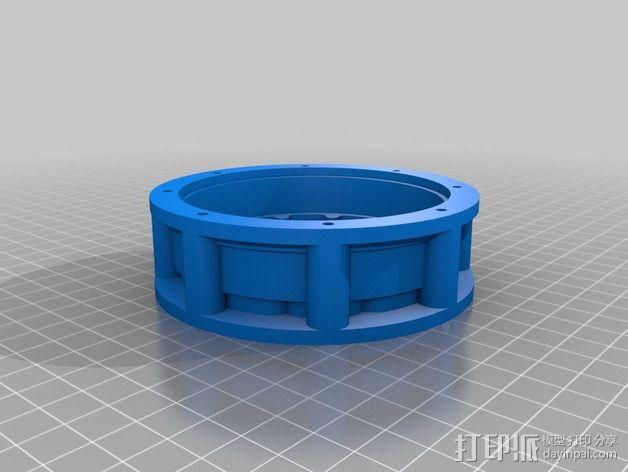 圆内螺线 变速箱 3D模型  图4