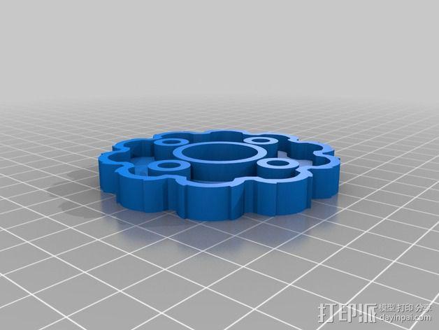 圆内螺线 变速箱 3D模型  图6