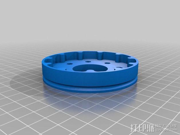 圆内螺线 变速箱 3D模型  图5