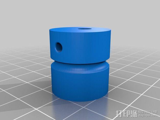 圆内螺线 变速箱 3D模型  图7