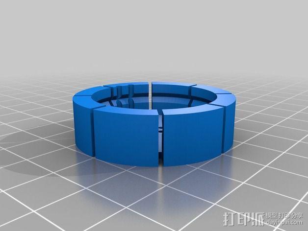 旋转开关 3D模型  图4