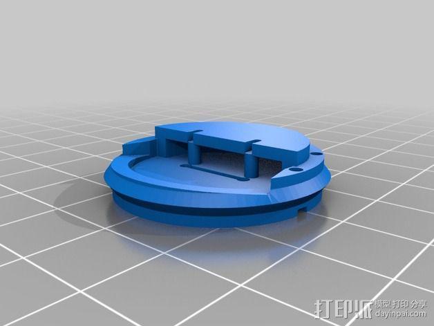 旋转开关 3D模型  图5