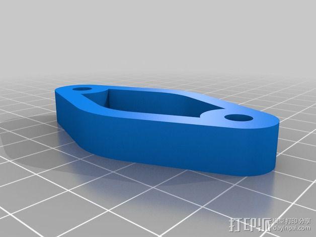 iPhone 自行车固定槽 3D模型  图2