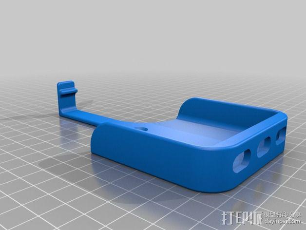 iPhone 自行车固定槽 3D模型  图3