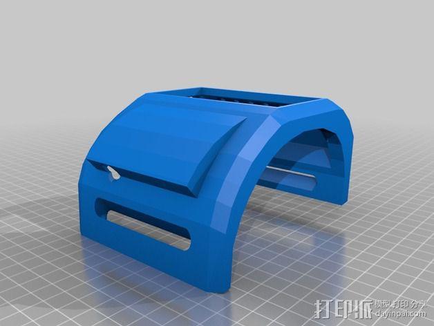 IPSC计时器 外壳 3D模型  图2