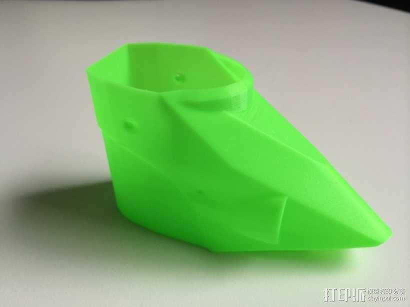 NanoCPX遥控飞机 飞机座舱罩 3D模型  图3